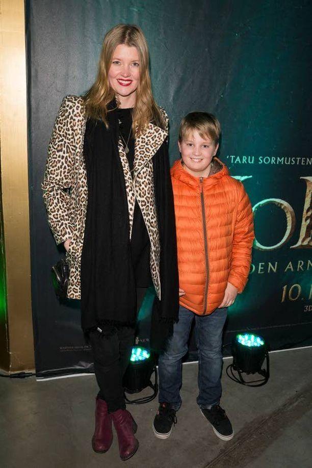 Kokki, juontaja ja ex-huippumalli Pipsa Hurmerinnan oma, puolitoistavuotias lapsi on vielä liian nuori elokuviin.