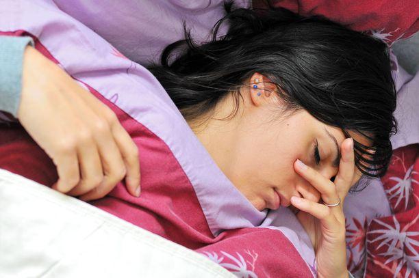 Nukkuminen ei vie väsymystä, jos uupumus on kroonista väsymysoireyhtymää.