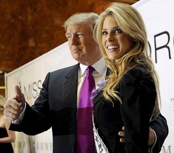 Miss USA -kilpailun omistaja Donald Trump ilmaisi vain kuukausi sitten näyttävästi tukensa Carrie Prejeanille. Nyt hän siunasi kohumissin potkut.