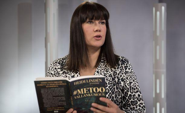 Näyttelijä ja ohjaaja Heidi Lindén on kirjoittanut kirjan #metoo-vallankumous.