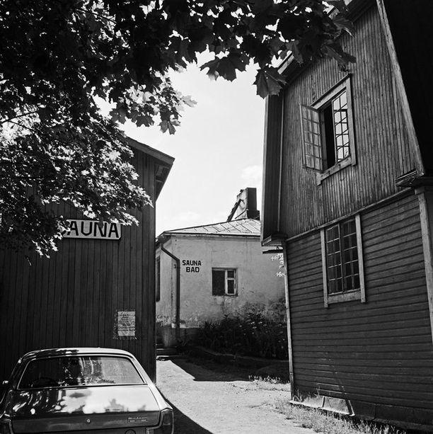 Pasilankatu 34 vuonna 1971.