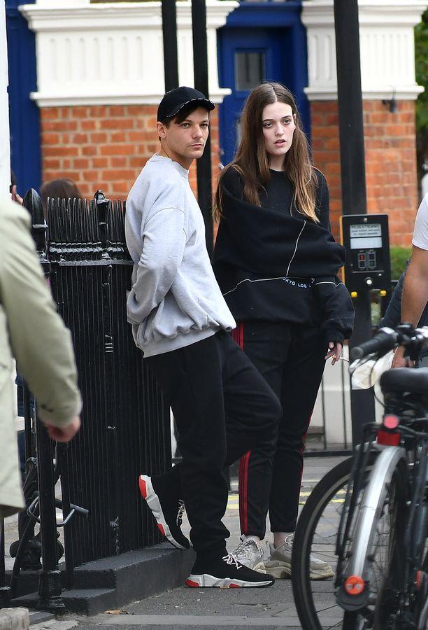 Louis Tomlinson ja Felicite Tomlinson Lontoossa syksyllä 2018.