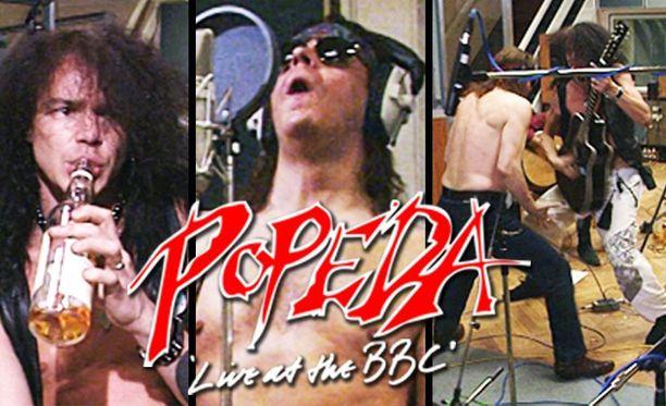 Popedan poikien meno oli villiä sekä BBC:n studiossa että sen ulkopuolella.