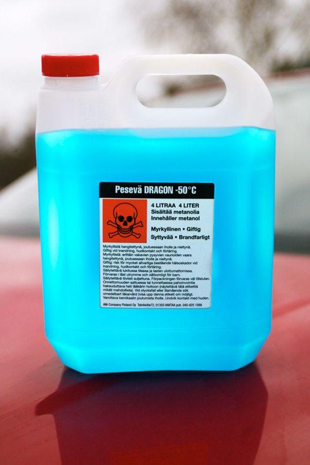 Metanolipitoiset tuotteet aiheuttavat nykyään kymmenkunta kuolemaa vuodessa.