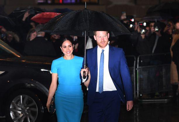 Harry ja Meghan ovat olleet naimissa kaksi vuotta.