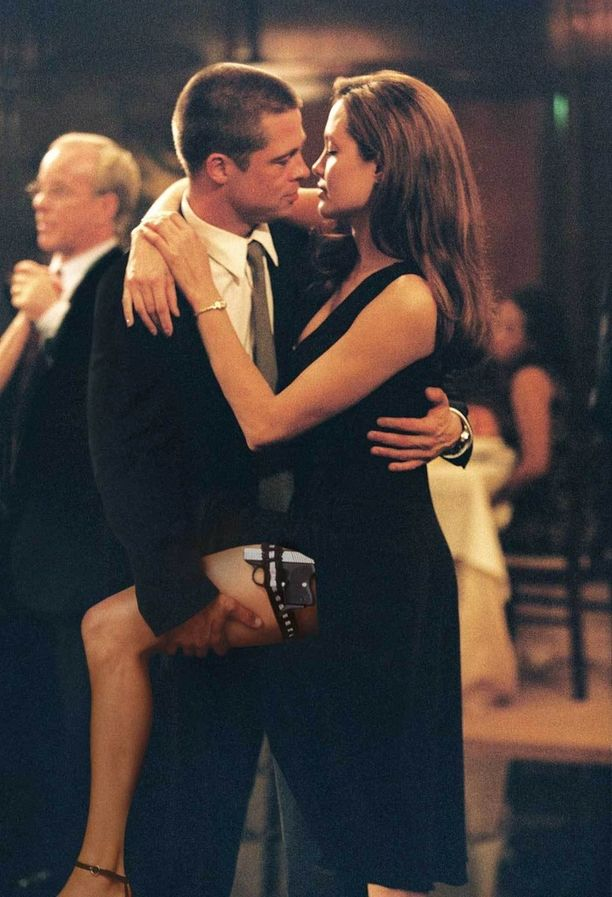 Parin kemia oli käsinkosketeltavaa elokuvassa Mr. and Mrs. Smith (2005).