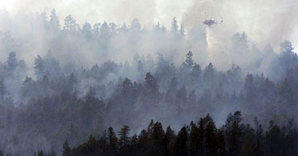 Palo ovat levinneet jo noin 500 hehtaarin alueelle.