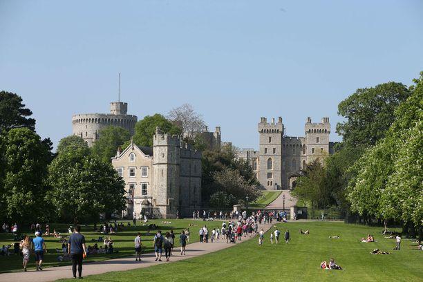Windsorin linna on lauantaisten häiden näyttämönä.