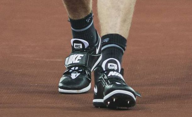 Torstaina Lontoossa Thomas Röhlerillä oli Niken uutuusmalli.