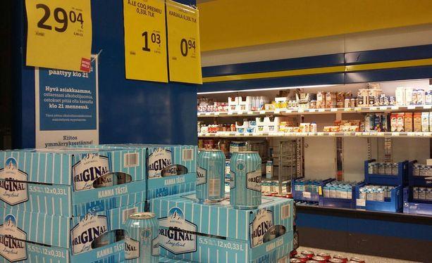 Vahvemmat oluet ja lonkerot tulivat päivittäistavarakauppoihin 1. tammikuuta.