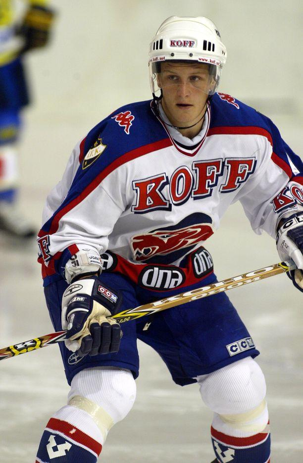 Joonas Vihko pelasi viimeiset juniorivuotensa HIFK:ssa ja murtautui seurassa myös SM-liigaan.