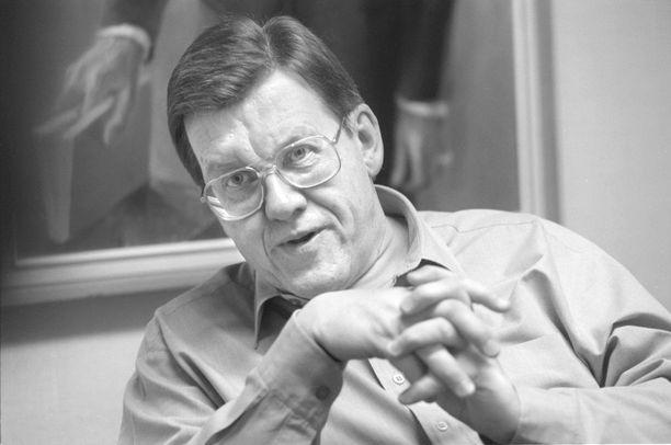 Saarnaaja Leo Meller kuvattuna vuonna 1997.