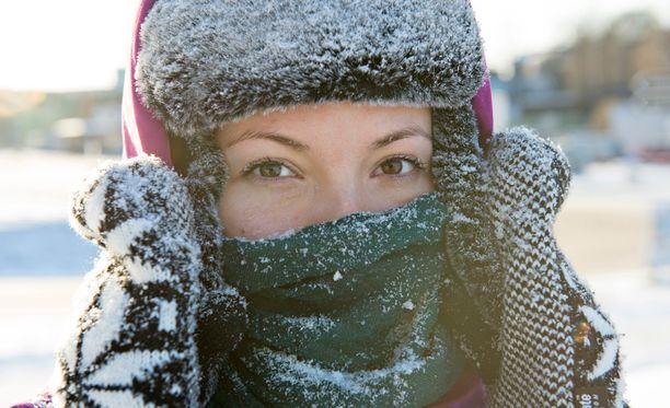 Lämpötila pysyttelee pakkasella lähes koko maassa.