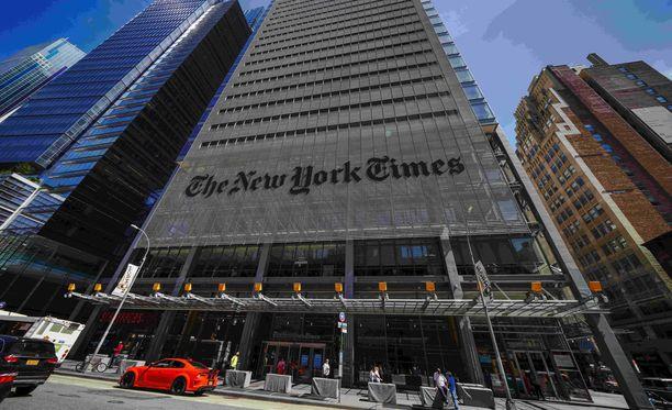 Mahdettiinkohan maineikkaan The New York Timesin toimituksessa seurata Iltalehden tekemisiä vuonna 1995?