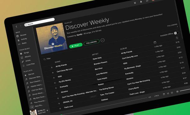 Spotify puuhailee oman kaiuttimen parissa.