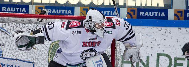 Marek Schwartzin ottelu TPS-maalissa kesti vajaat kolme minuuttia.