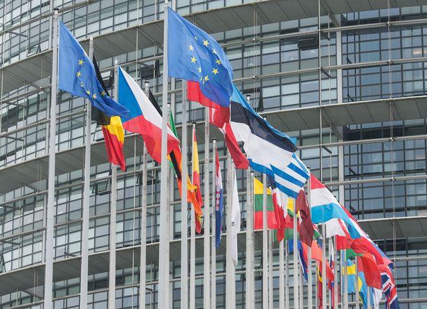 EU-parlamentti Strasbourgissa.