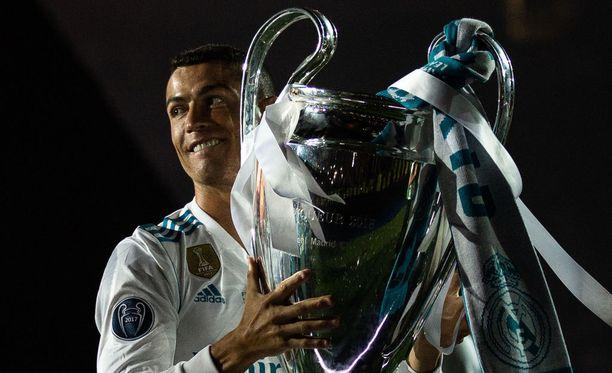 Mestarien liigan voittopytty jäi Cristiano Ronaldon viimeiseksi Espanjan jättiseuran paidassa.