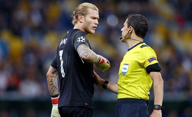 Loris Karius valitti Milorad Mazicille Sergio Ramosin törkytempusta.