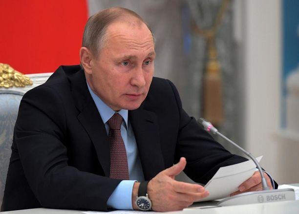 Venäjän presidentti Vladimir Putinille kyllä kelpaisi etupiirijako Donald Trumpin kanssa.