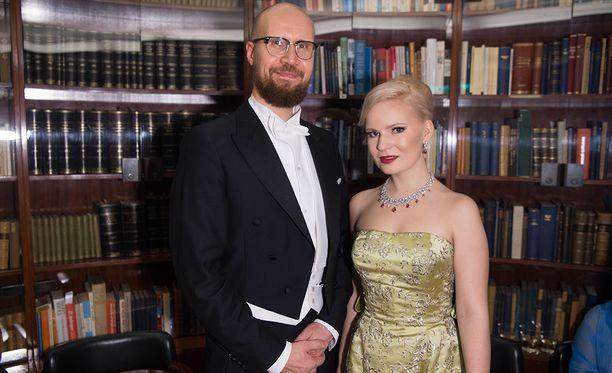 Touko Aalto ja Iris Flinkkilä.