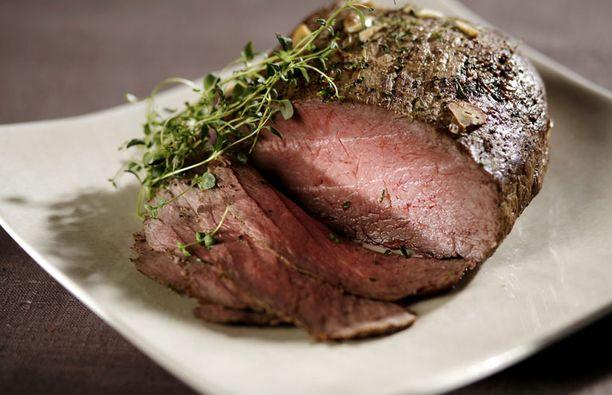 Yhä useampi paahtopaisti tehdään nyt luomulihasta.