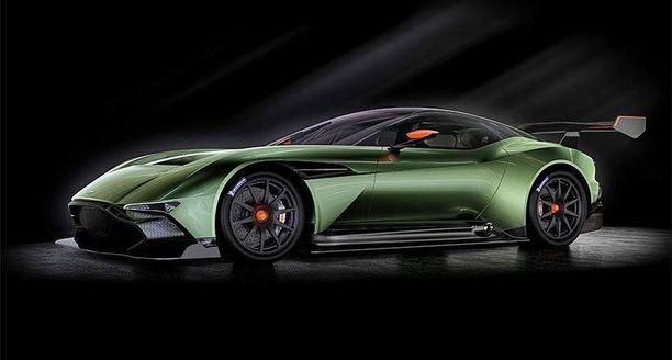 Aston Martinin hiilikuitukori on suunniteltu rata-ajoon.