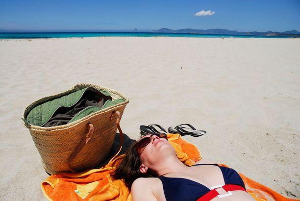 Formenteran Playa de Ses Illetes on näin hienohiekkainen.