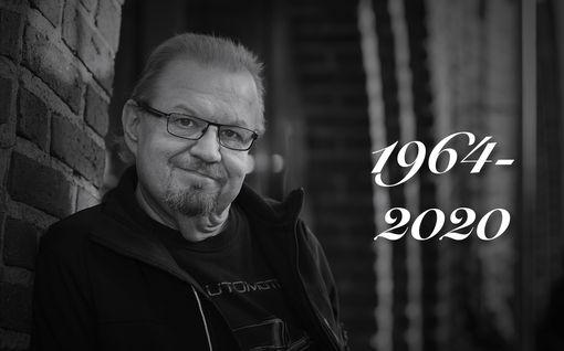 Taiteilija Jope Ruonansuu, 56, on kuollut