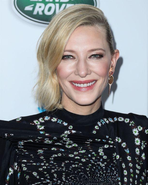Cate Blanchett tunnettiin pitkään blondina.