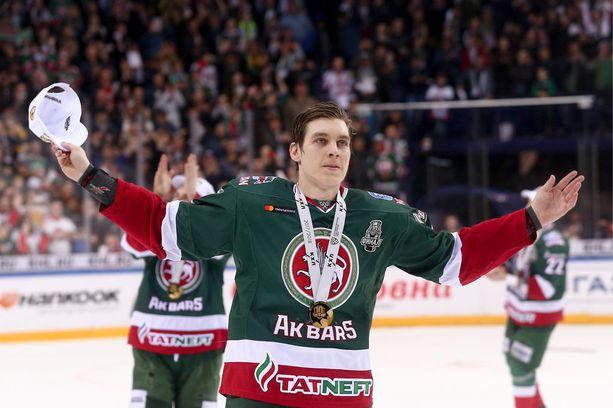Ohtamaa voitti viime keväänä Kazanissa Gagarin Cupin ja finaalisarjan parhaan puolustajan palkinnon.