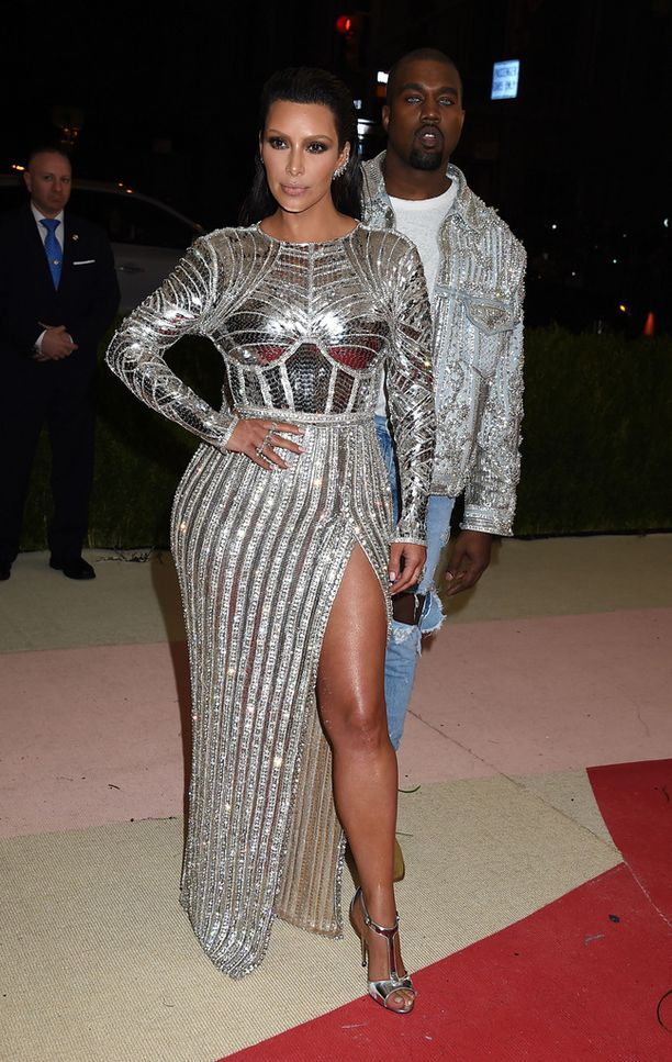 Kim Kardashian ja Kanye West.