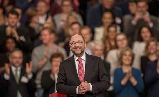 Martin Schulz on valittu Saksan sosiaalidemokraattisen puolueen johtoon.