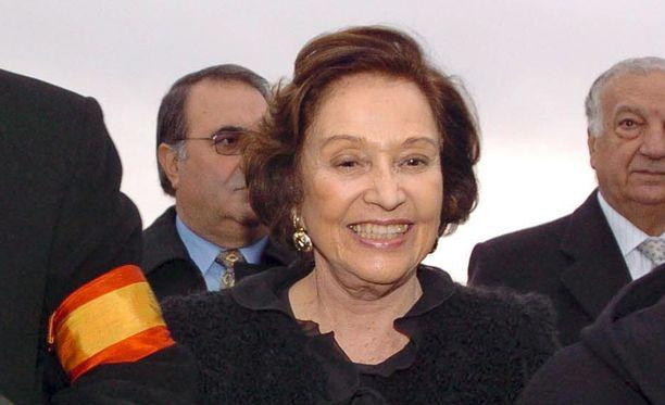 Carmen Franco oli tiettävästi Francisco Francon ainut lapsi.