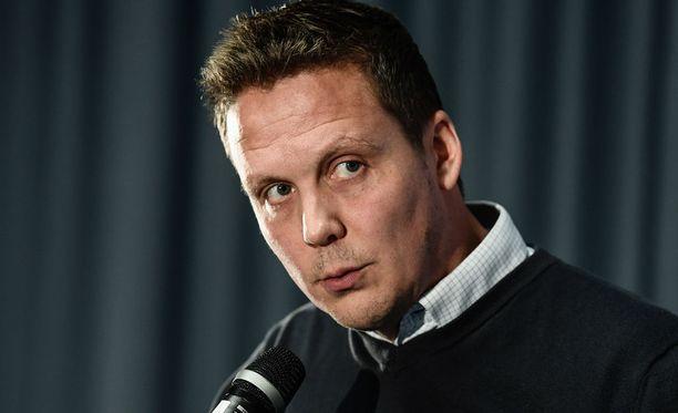Lauri Marjamäki oli tyytyväinen Leijonien peli-ilmeeseen.