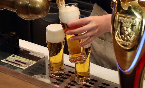Lahden MM-kisoissa olut irtoaa kuudella ja puolella eurolla.