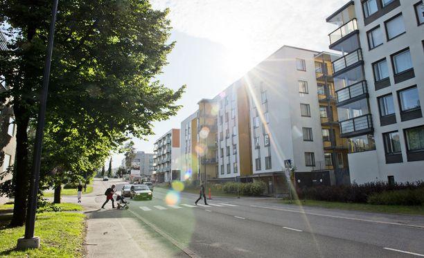 Tiistilä kuuluu Espoon Matinkylän kaupunginosaan. Kuvituskuva.