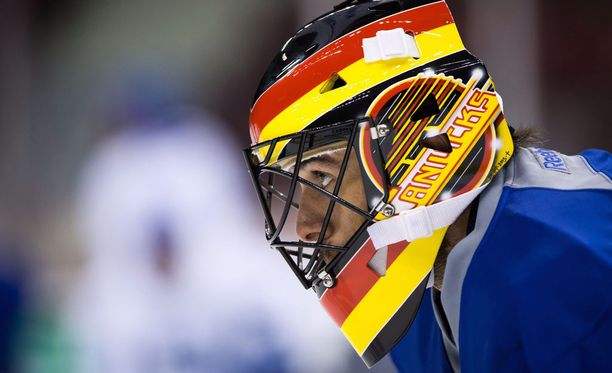 Ryan Millerin maskissa oli lentävä luistin vuonna 2016.