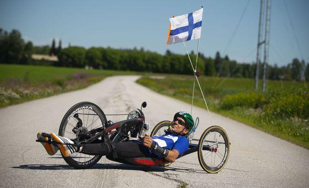 Teppo Polven arki pyörii urheilun ympärillä. Päivät täyttyvät treenistä, jumpasta, fysioterapiasta ja palautumisesta.