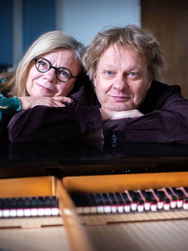 Lotta Kuusisto ja Iiro Rantala ovat olleet yksissä jo 30 vuotta.