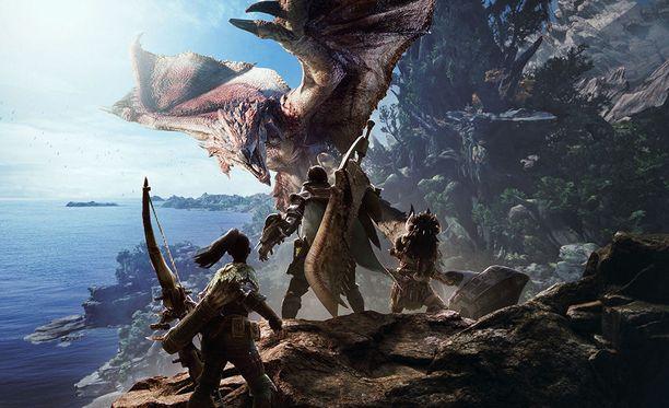 Monster Hunter: World ilmestyy PC:lle elokuussa.