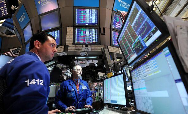 New Yorkin pörssi pysähtyi tänään teknisen vian vuoksi.