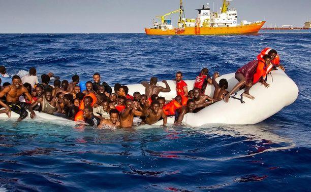 Italiaan on tullut tänä vuonna 168 000 pakolaista.