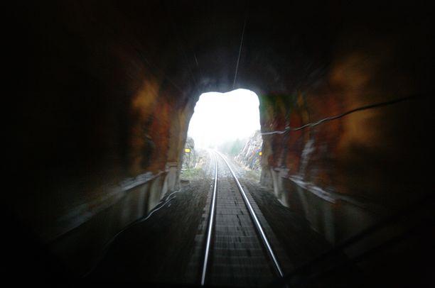 Kuvan tunneli ei tiettävästi liity tapaukseen.