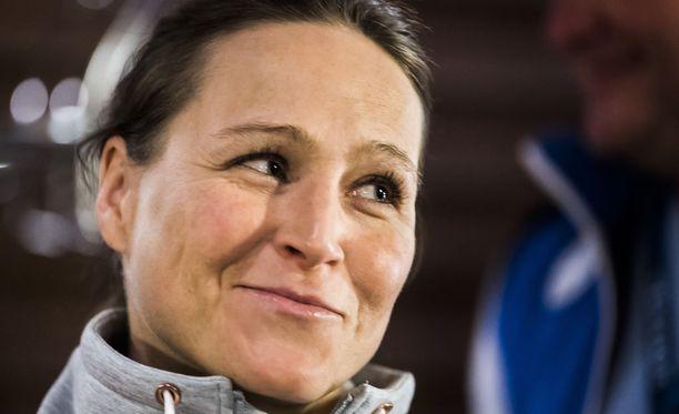 Aino-Kaisa Saarinen onnistui sunnuntaina Planican maailmancupissa. Hän oli kolmanneksi parhaana suomalaisena sijalla 11.