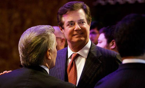 Paul Manafort erosi Donald Trumpin vaalikampanjan päällikön tehtävästään elokuussa.