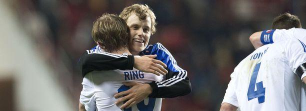 Teemu Pukki laukoi Suomelle sensaatiomaisen 1-1-tasapelin Espanjaa vastaan viime maaliskuussa.