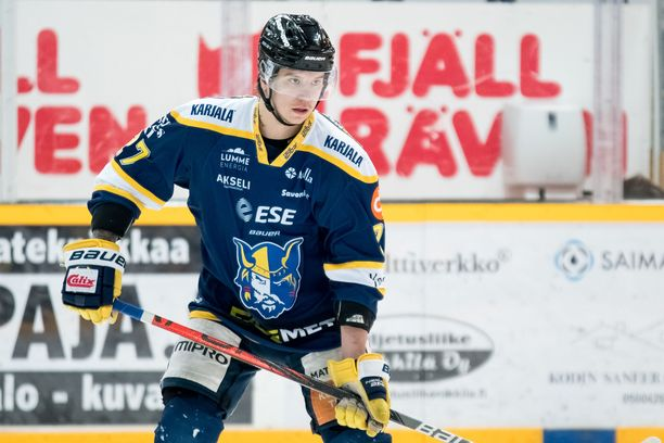 Mika Partanen edusti viime kaudella Mikkelin Jukureita.