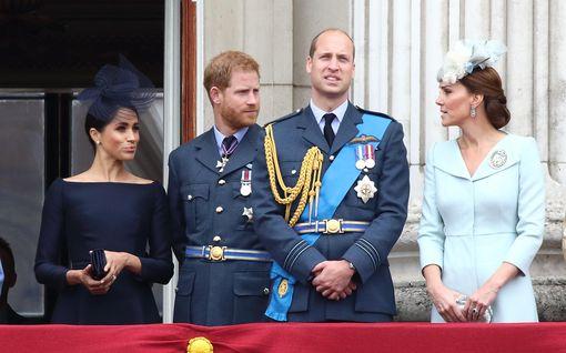 Harry ja Meghan onnittelivat Williamia ja Katea hääpäivänä – herttuaparilta suloinen kiitosvideo