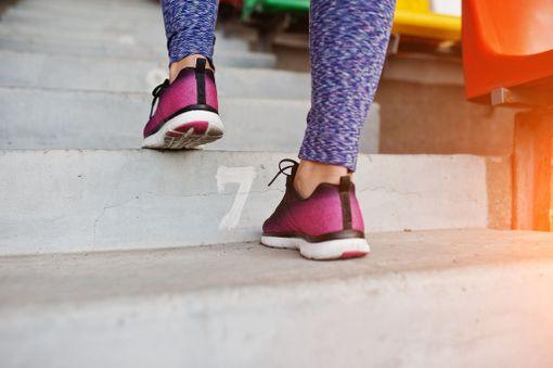 Jos muutaman rappusen nouseminen saa sydämesi hakkaamaan, kannattaa ehkä kiivetä portaita useamminkin.